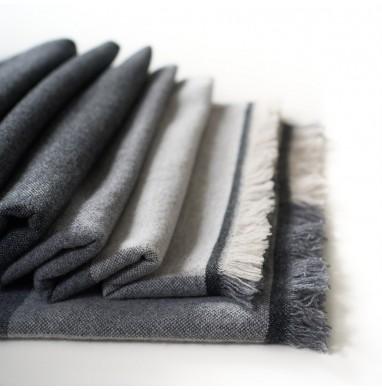 Blanket EDEN charcoal gray...
