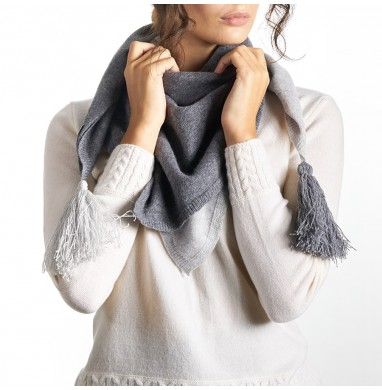 Foulard CERVIA dark grey...