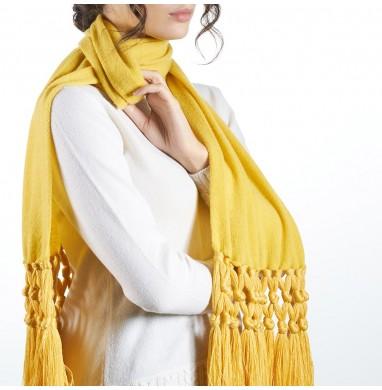 Sciarpa IRIS giallo in 70%...