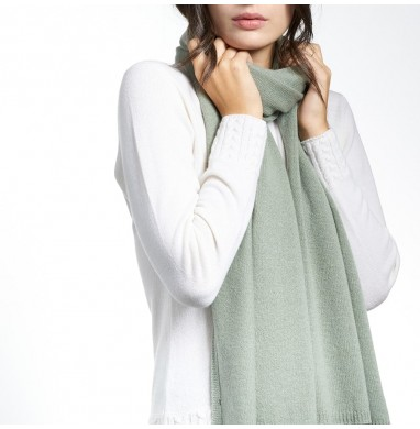 Stola LIFE salvia in cashmere