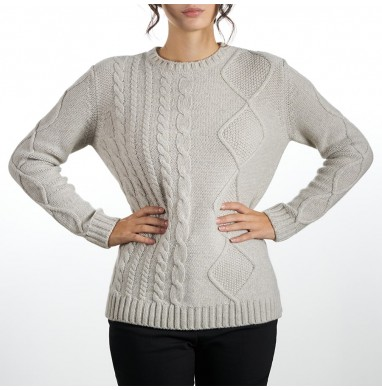 Sweater BLUSH pearl grey...