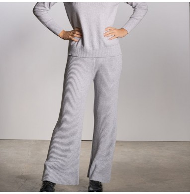 Trousers BELIZE grey cashmere