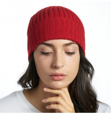Hat GOLD red cashmere