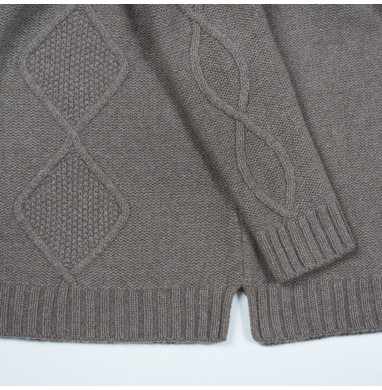 Sweater BLUSH walnut...