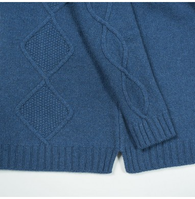 Sweater BLUSH blu denim...