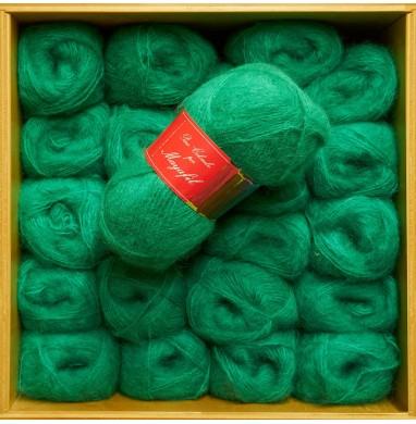 Yarn SANDRA bright green...