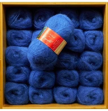 Yarn SANDRA Tyrrhenian blue...