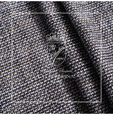 Handloomed ETAMINE fabric