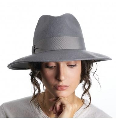 Cloche ANNA medium grey wool